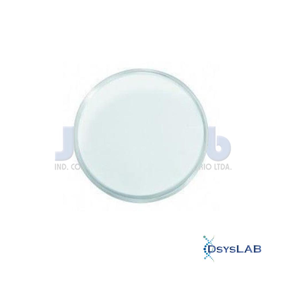 Placa de Petri Microbiologia Estéril s/ Divisão J.PROLAB