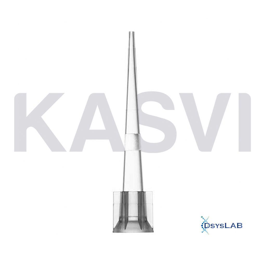 Ponteira Universal Comum Com Filtro Baixa Retenção Estéril Transparente Kasvi