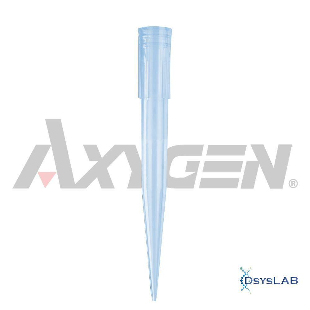 Ponteira Universal Comum Sem Filtro  Estéril Azul Axygen