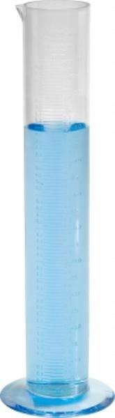Proveta Pluviométrica PP Cristal  Graduado em alto relevo Não autoclavável Base de polipropileno  J.PROLAB