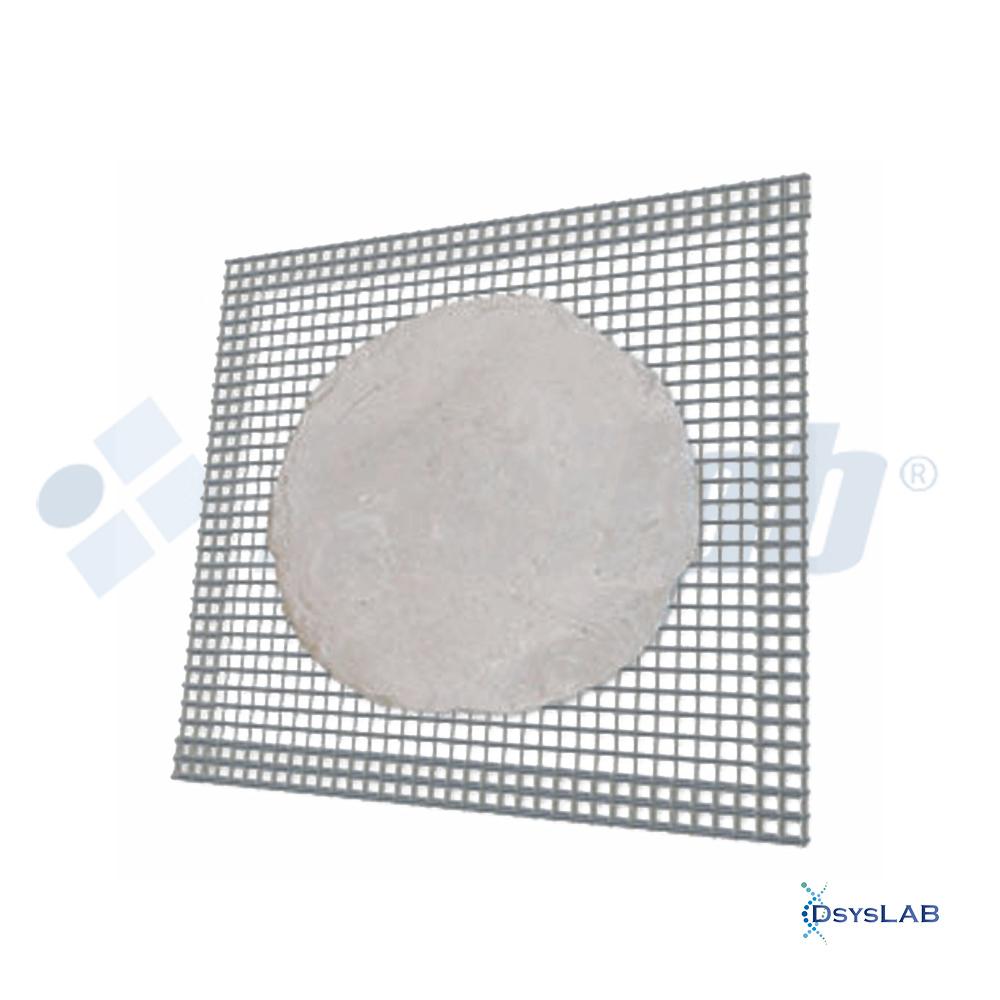 Tela Arame galvanizado   Com disco de cerâmica refratária RICILAB