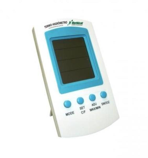 Termohigrômetro Digital Plástico ABS 20% a 90% Calibrado J.PROLAB