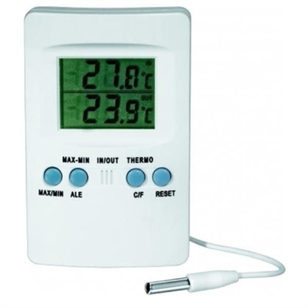 Termômetro Digital ABS Com cabo J.PROLAB