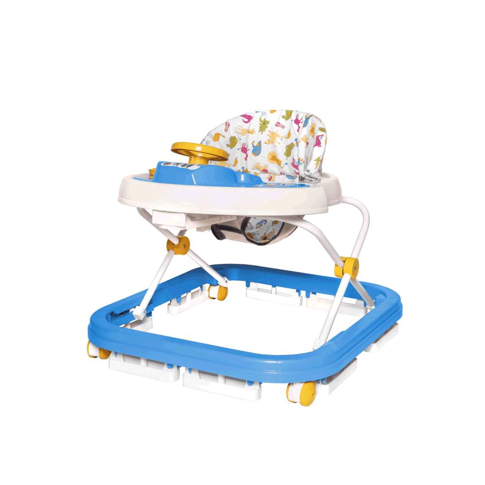 Andador Sonoro 9800105 Azul-bebe Branco StyllBaby