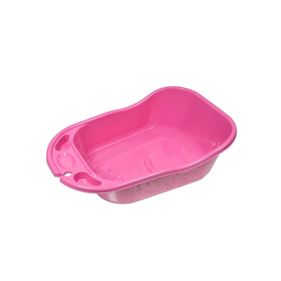 Banheira Plástica 34 Litros 9900455 Rosa-Bebê Styll Baby