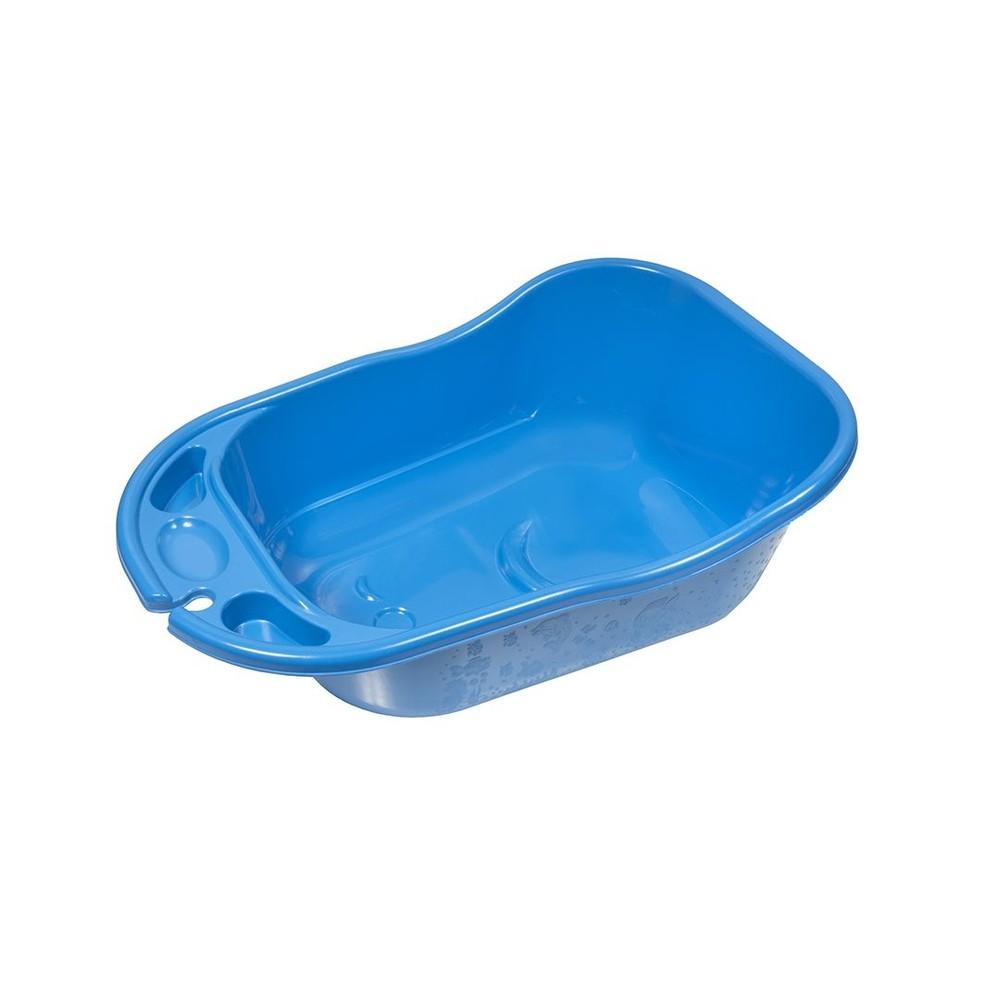 Banheira Plástica 34 Litros 9900509 Azul-bebê  Styll Baby