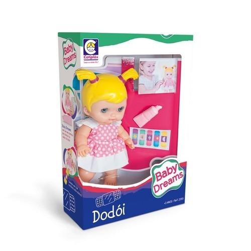 Boneca Baby Dreams Dodói 2093 Cotiplas