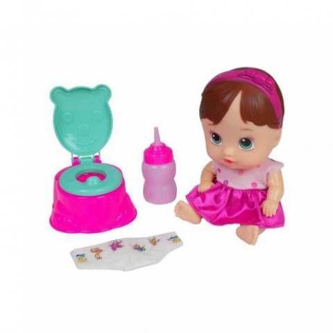 Boneca My Little Dolls Faz Xixi 8002 Divertoys
