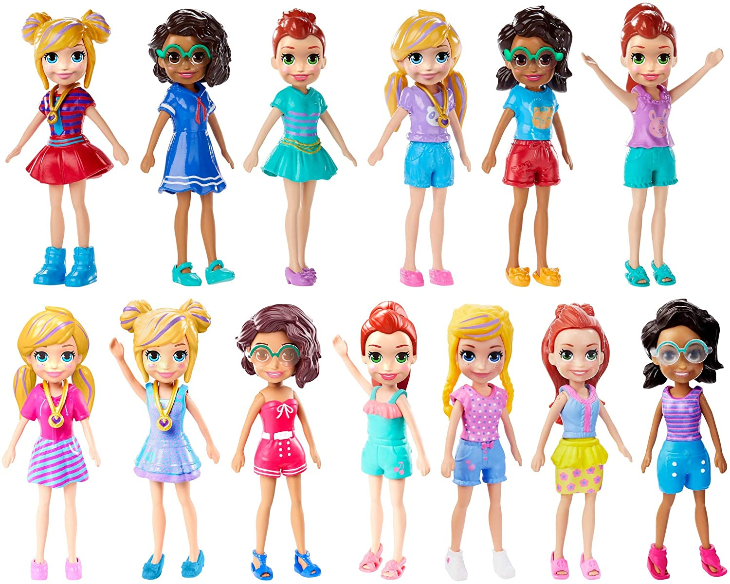 Boneca Polly Pocket Sort.FWY19 Mattel