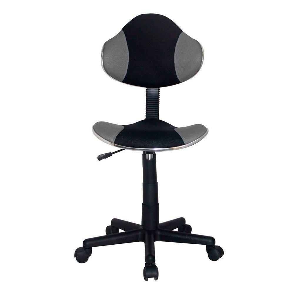 Cadeira Anatômica Giratória Carena Preto Cinza  QZY-G2B 754 Best