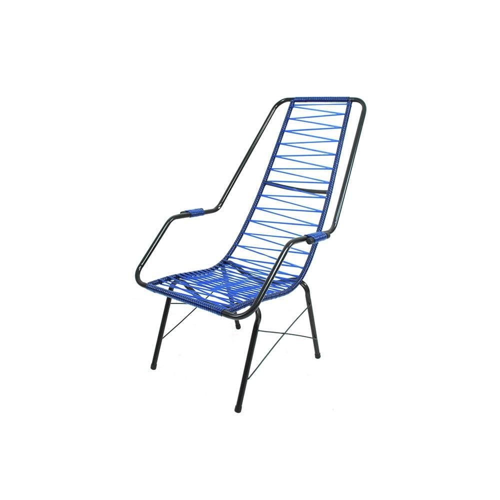 Cadeira de Área Azul Parreira & Parreira