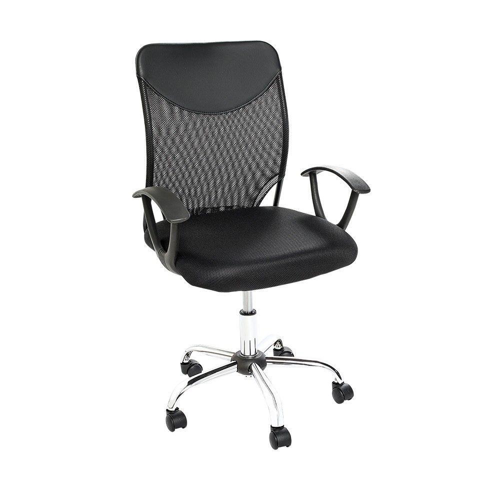Cadeira Executiva Giratória Carena Preta UT-C161A 757 Best