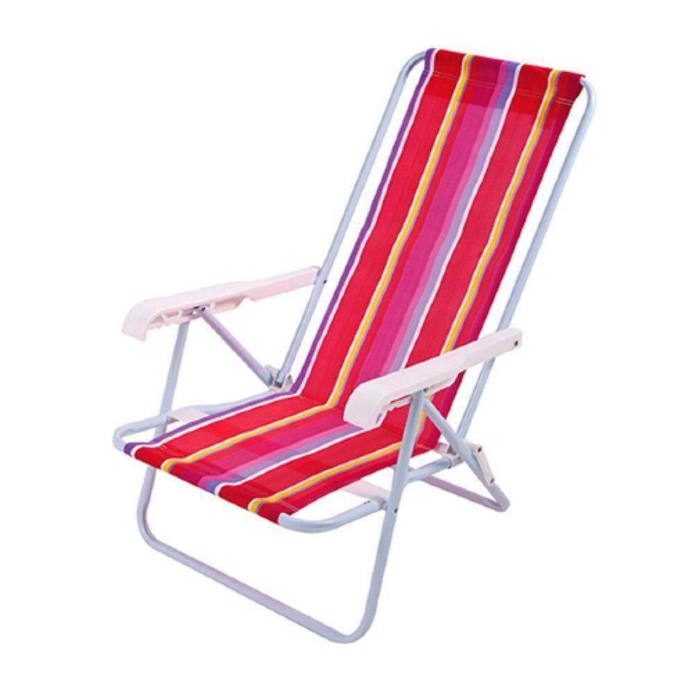 Cadeira Reclinável 4 Posições Ref.2004 Mor