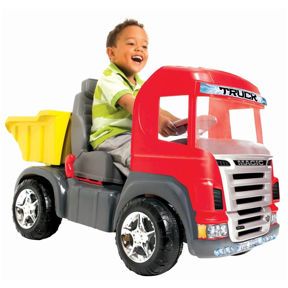 Caminhão Truck Pedal ref.9300 Vermelho Magic Toys