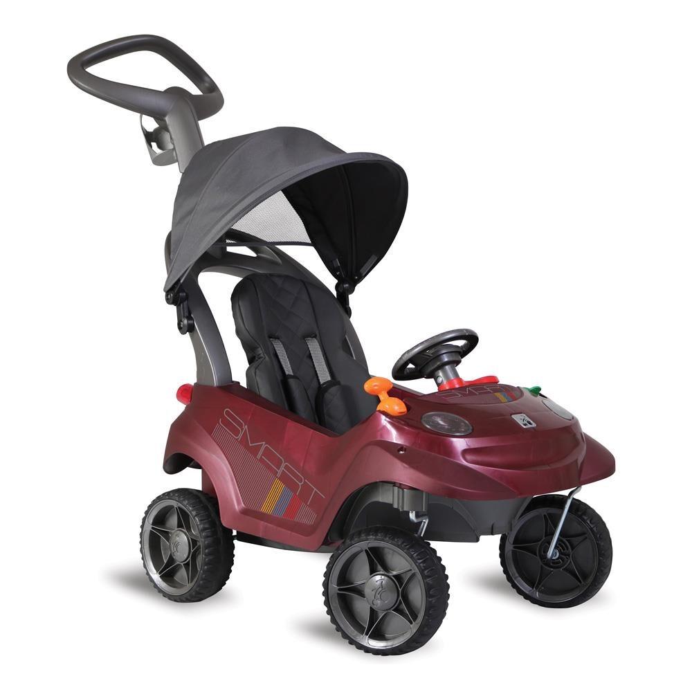 Carro Passeio Smart Baby Comfort 534 Vinho Bandeirante