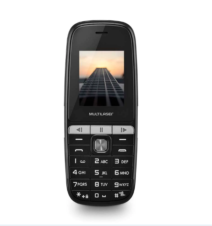 Celular P9076 UP PLAY 1.8 Dual Chip Preto Multilaser