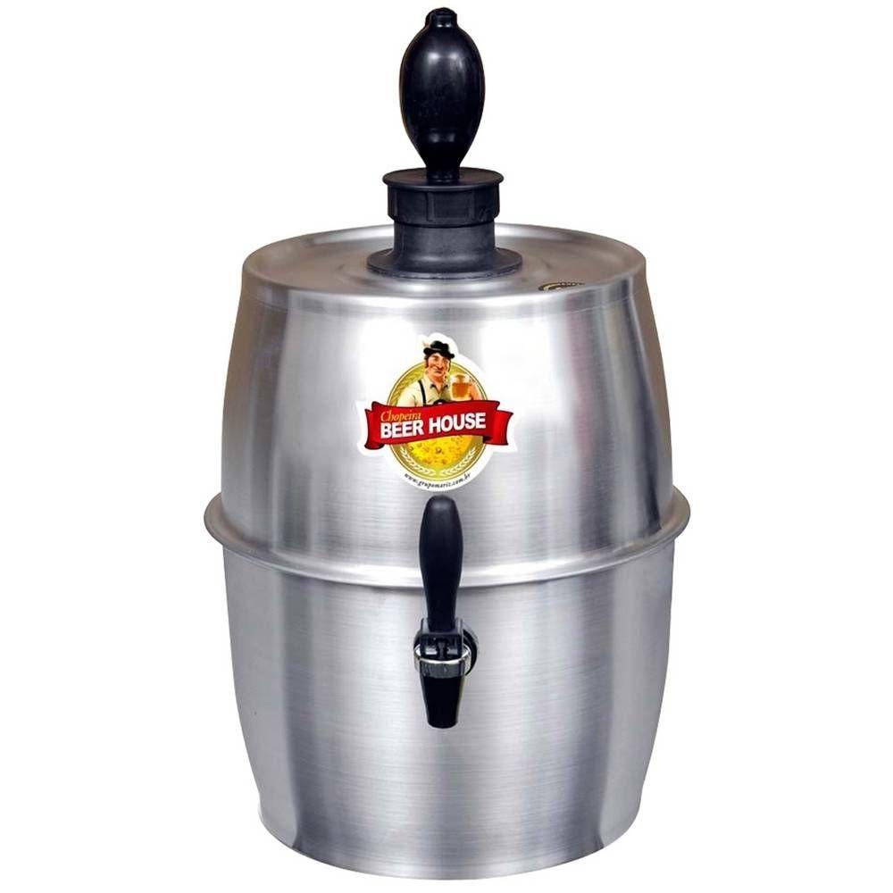 Chopeira 5.6L Aluminio Beer House 4-4050 Mariz