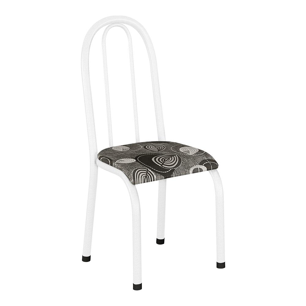 Conjunto de 4 Cadeiras 114/537 Branco Paraopeba 15 Madmelos