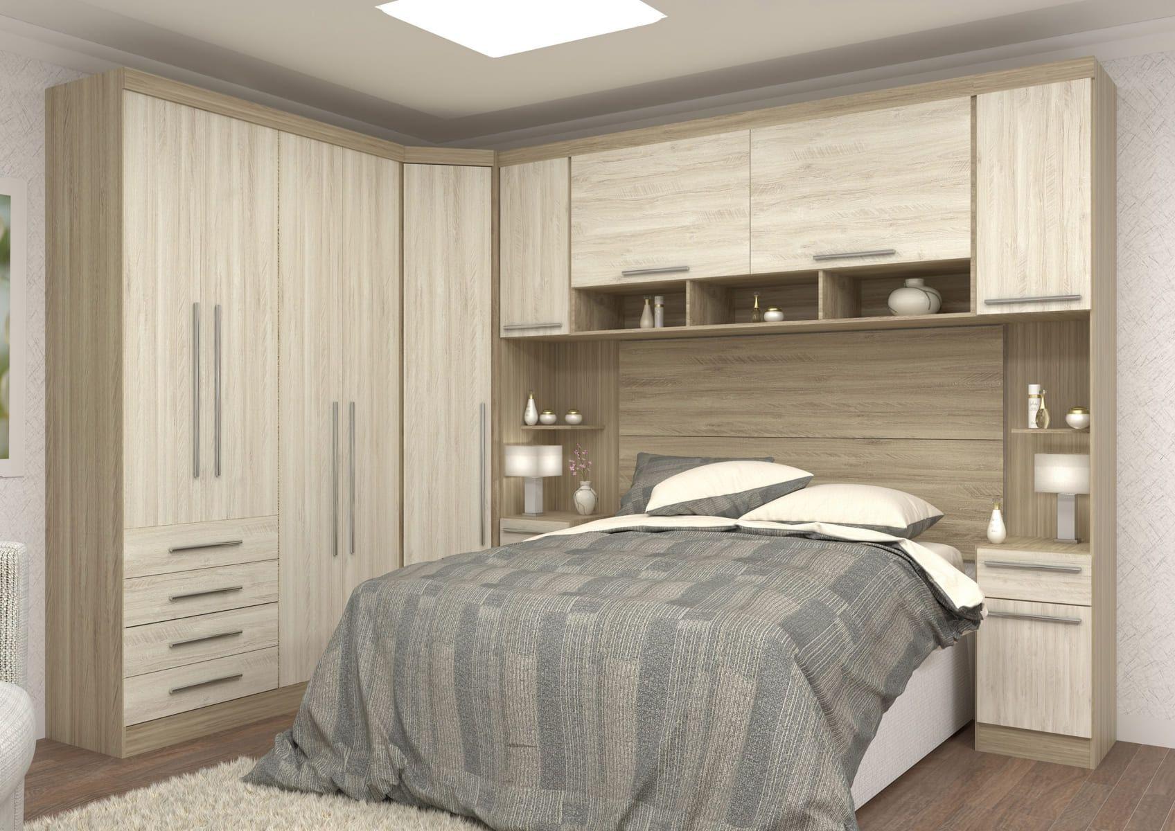 Dormitório Completo Master Modulado Avela/Ártico Luciane