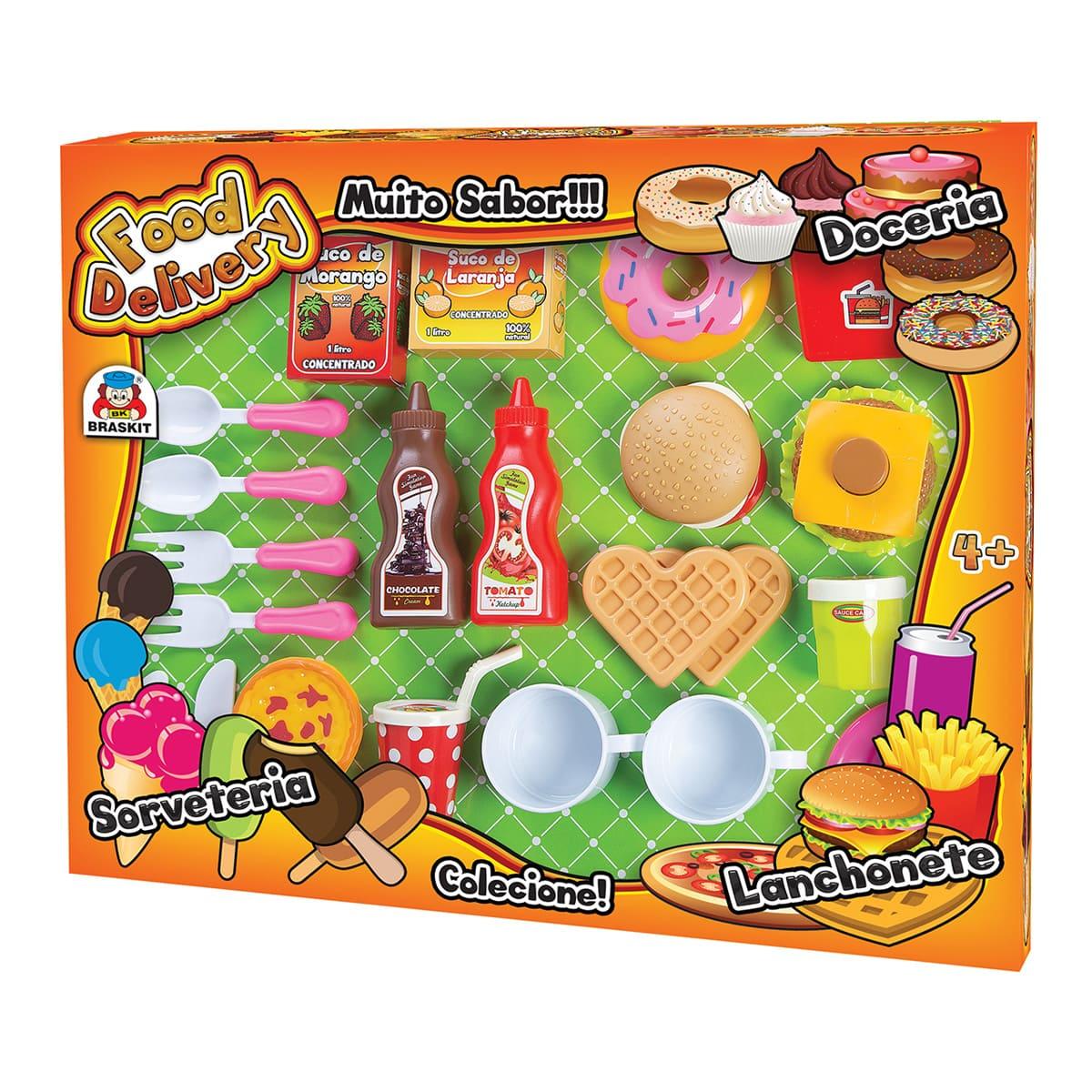 Food Delivery Lanchonete Ref.860-7 Braskit