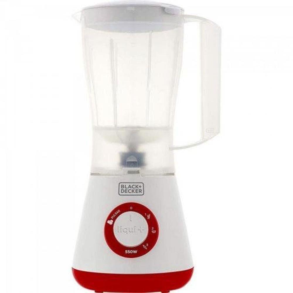Liquidificador L3 3 Velocidade Branco/Vermelho 127V Black&decker