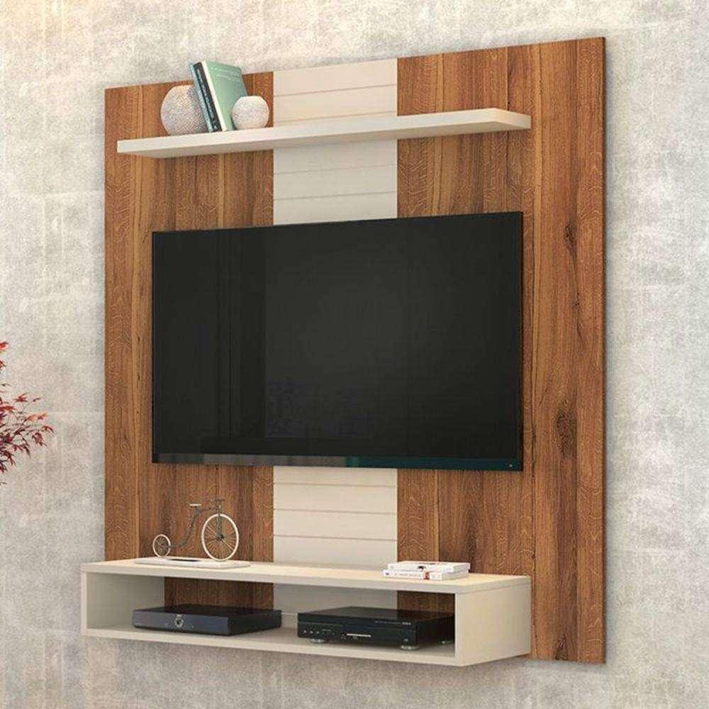 Painel Smart Rustico Terrara/Off White 14075-150 Dj Móveis