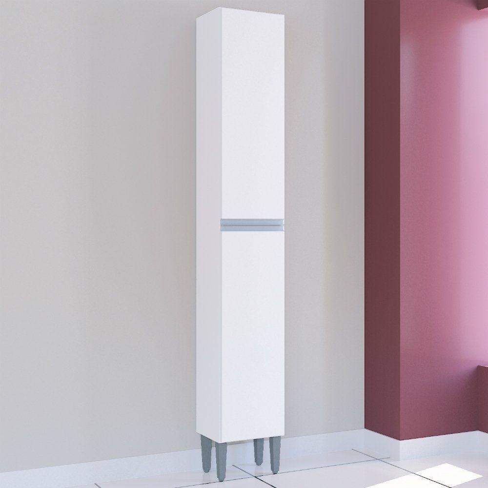 Paneleiro Simples 0.26 Aline Branco/Branco A704.33 Poquema