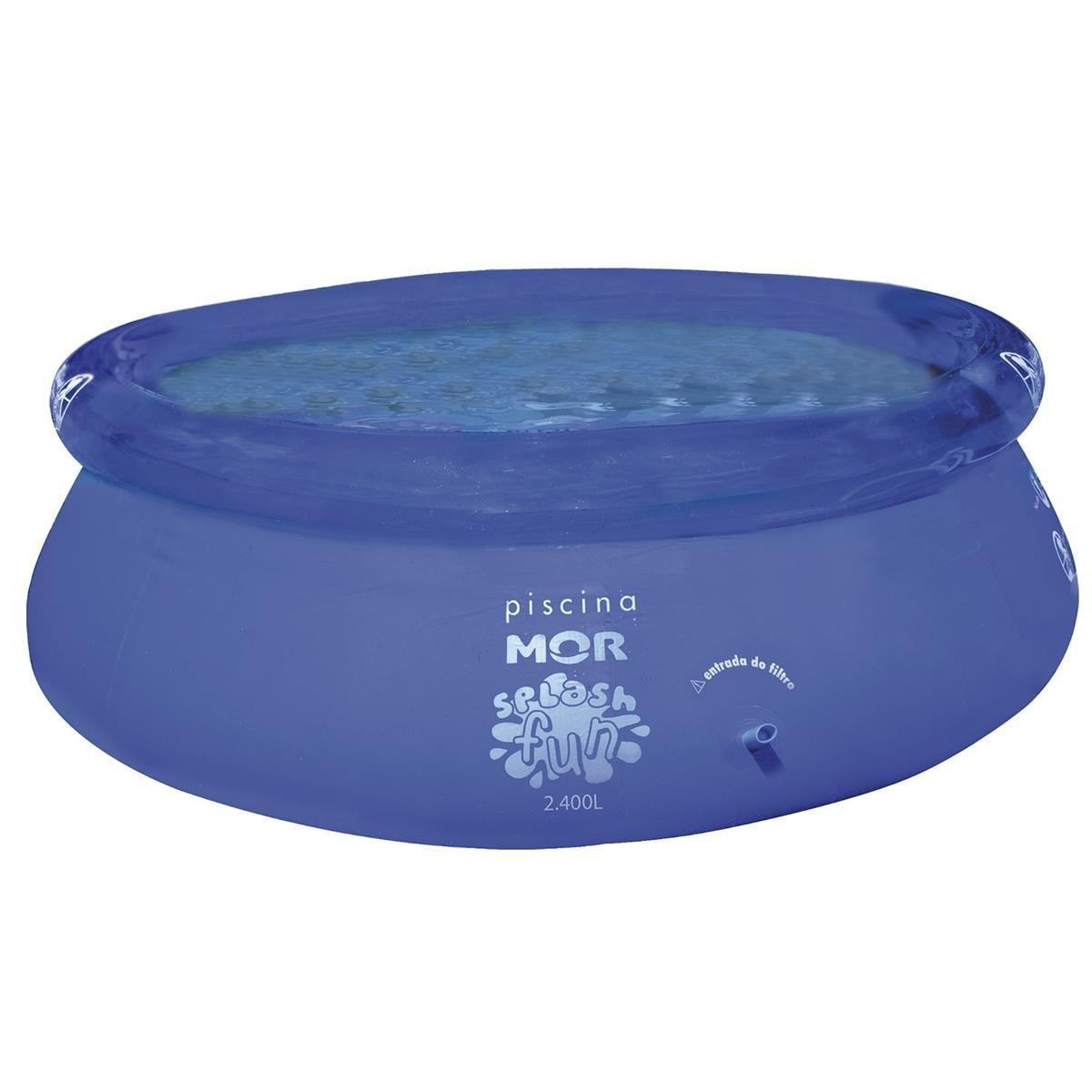 Piscina Infantil Splash Fun 2400L ref.1053 Mor