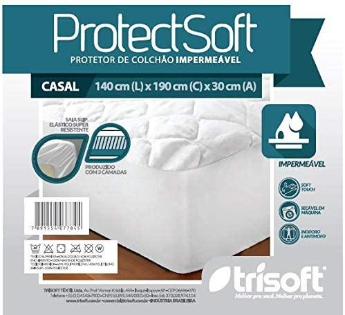Protetor Colchão Impermeável Protect Soft Casal C032 Trisoft