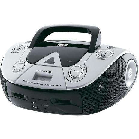 Rádio com CD PB126  4W RMS MP3 USB 57003068 Philco