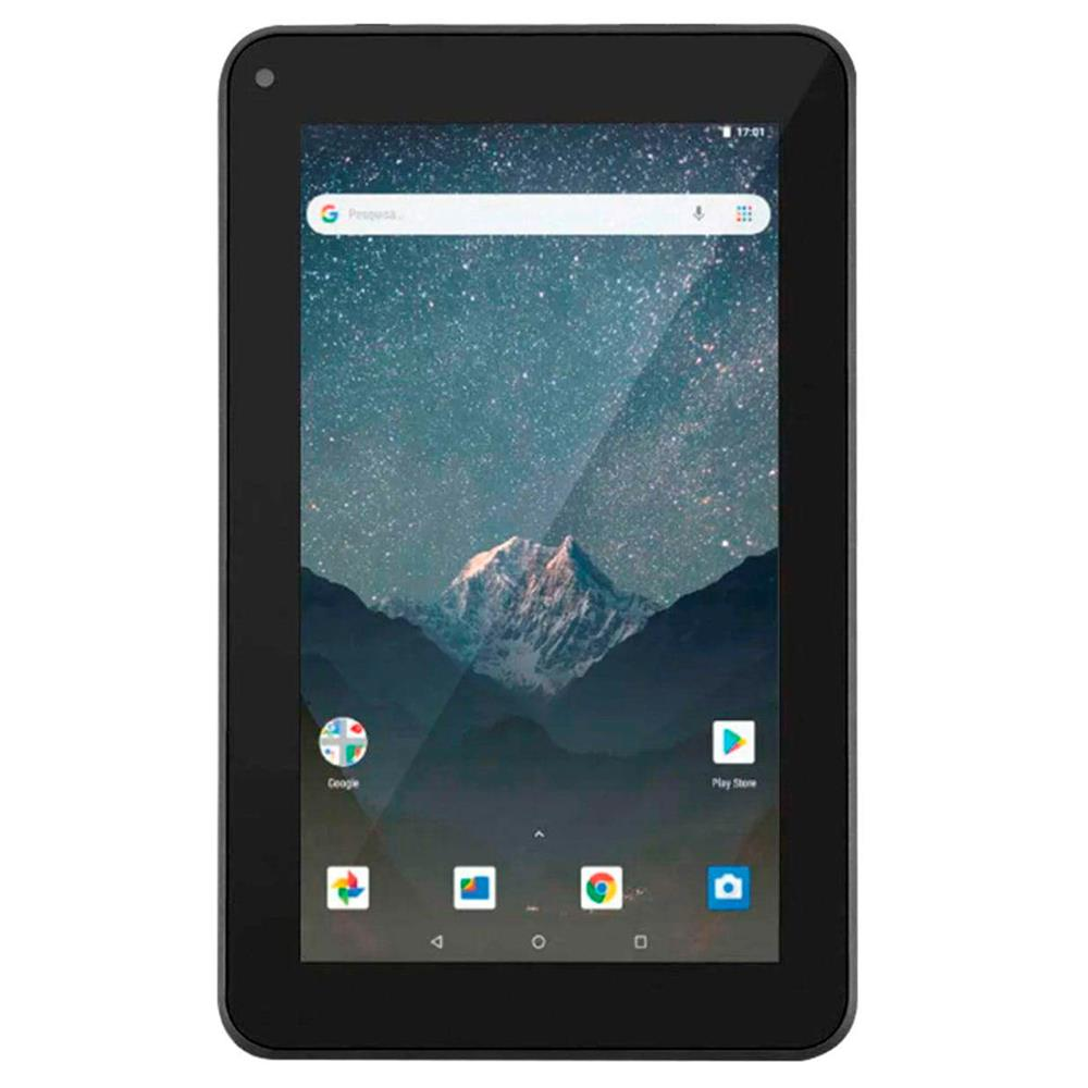 Tablet 7 M7-S GO NB316 16GB/1GB Preto Multilaser