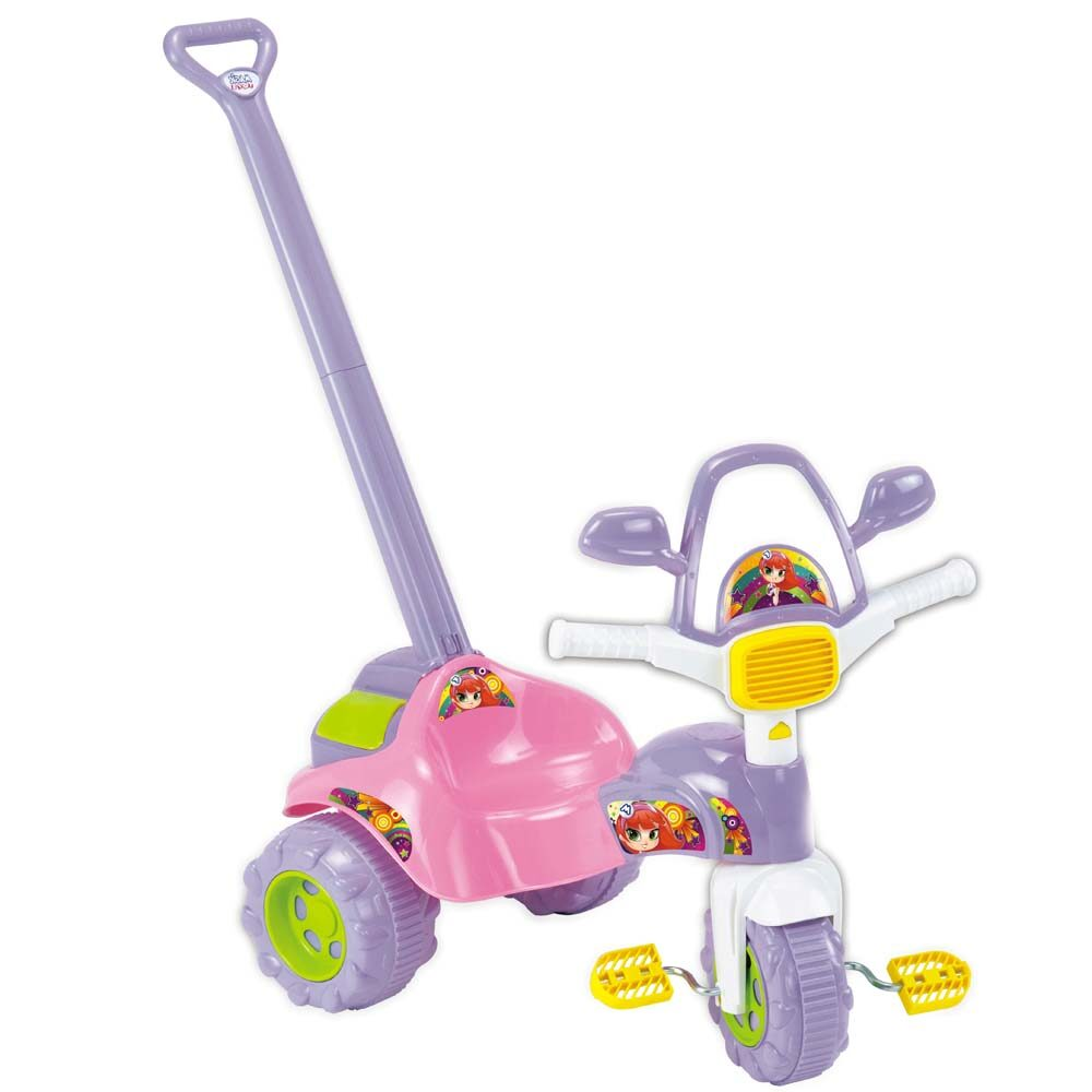 Tico-Tico Zoom Meg com Alça Rosa ref.2711 L Magic Toys