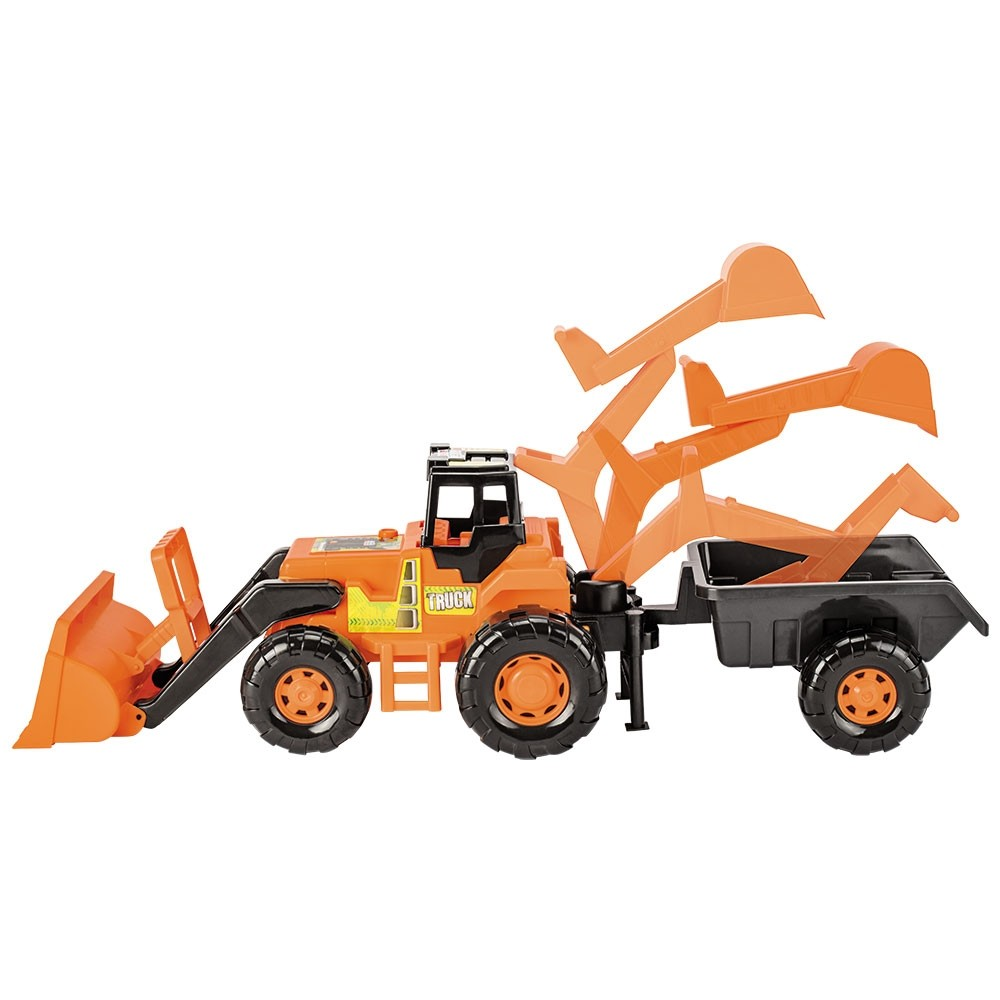 Trator Truck Super Azul Ref.5012 Magic Toys