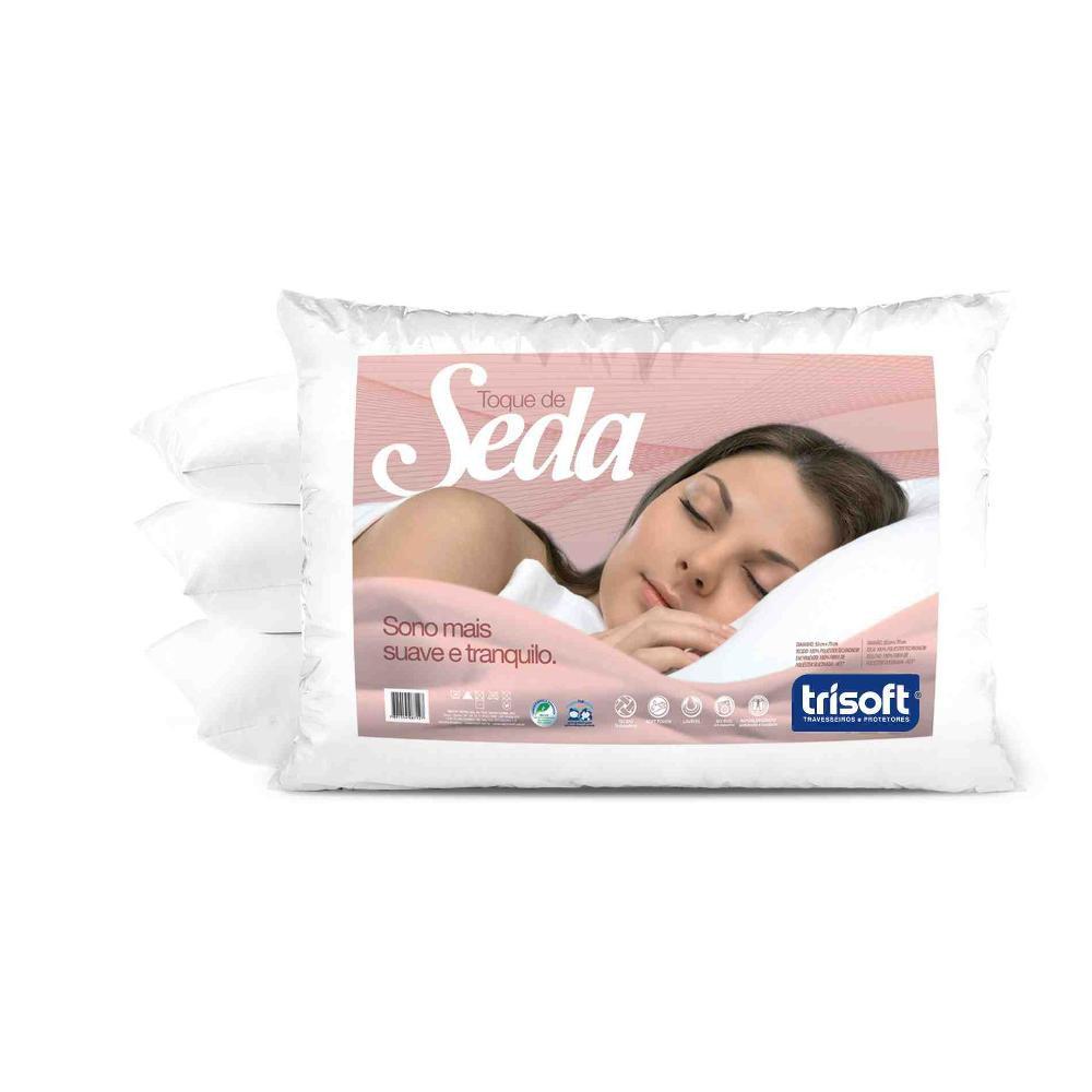 Travesseiro Toque de Seda 50X70 C050 Trisoft