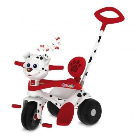 Triciclo Passeio e Pedal Tonkinha Doggy Bandeirante