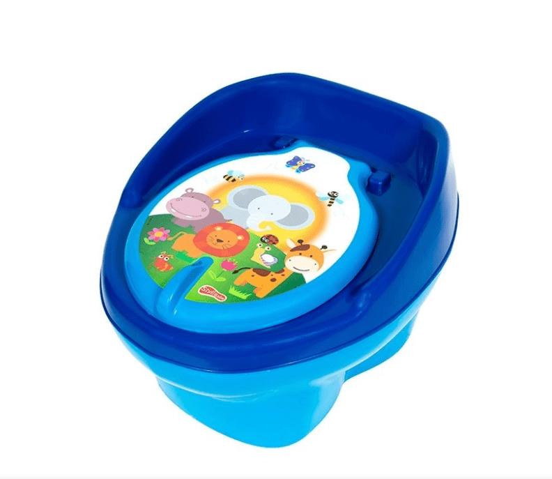 Troninho Musical 9900710 Azul-bebê/azul bic Styll Baby