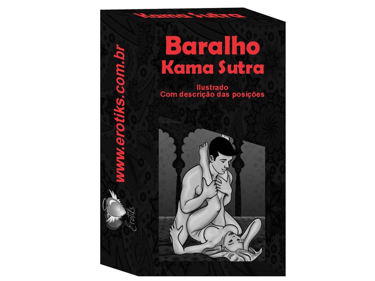 Baralho Kama sutra (20 cartas com posições explicadas)