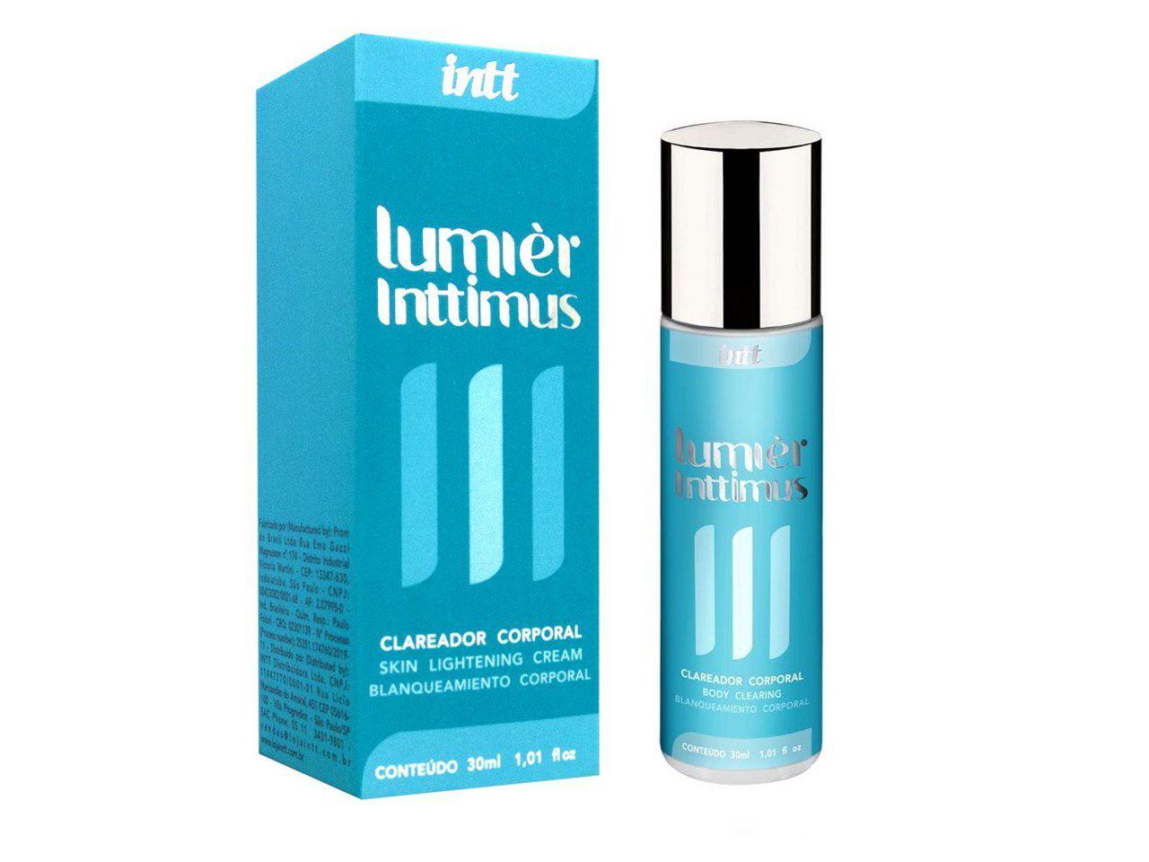 Creme clareador corporal Lumier Inttimus 30 ml