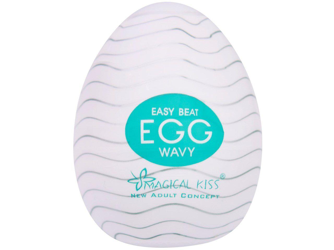 Masturbador Magical Kiss Egg - Diversas texturas