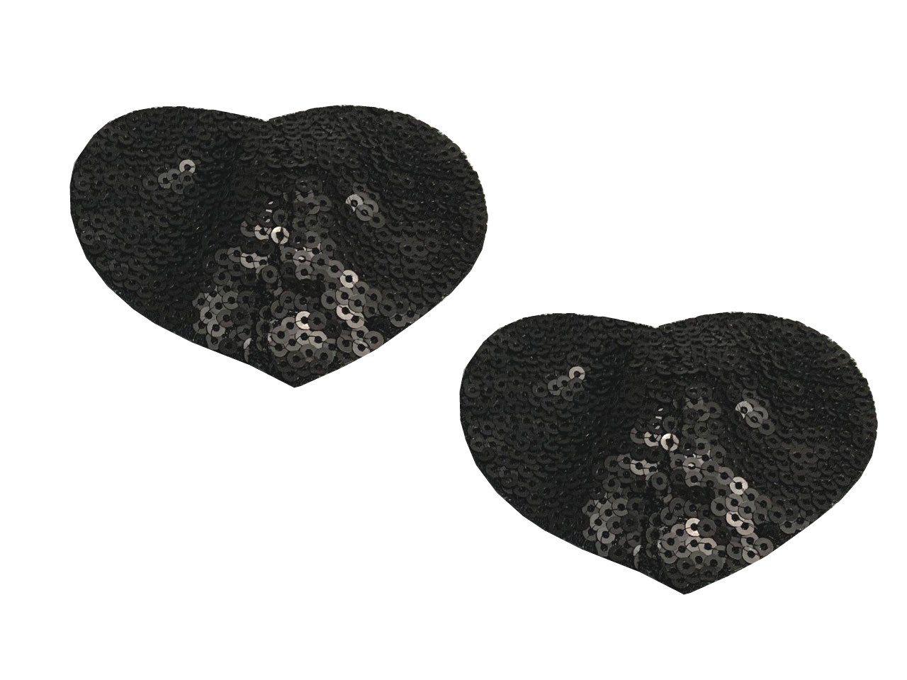 Nipple cover (cobertor de mamilos) em formato de coração
