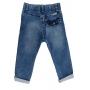 Calça Jeans Skinny Moletom Bebê Crawling