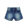 Short Jeans Infantil Feminino Crawling