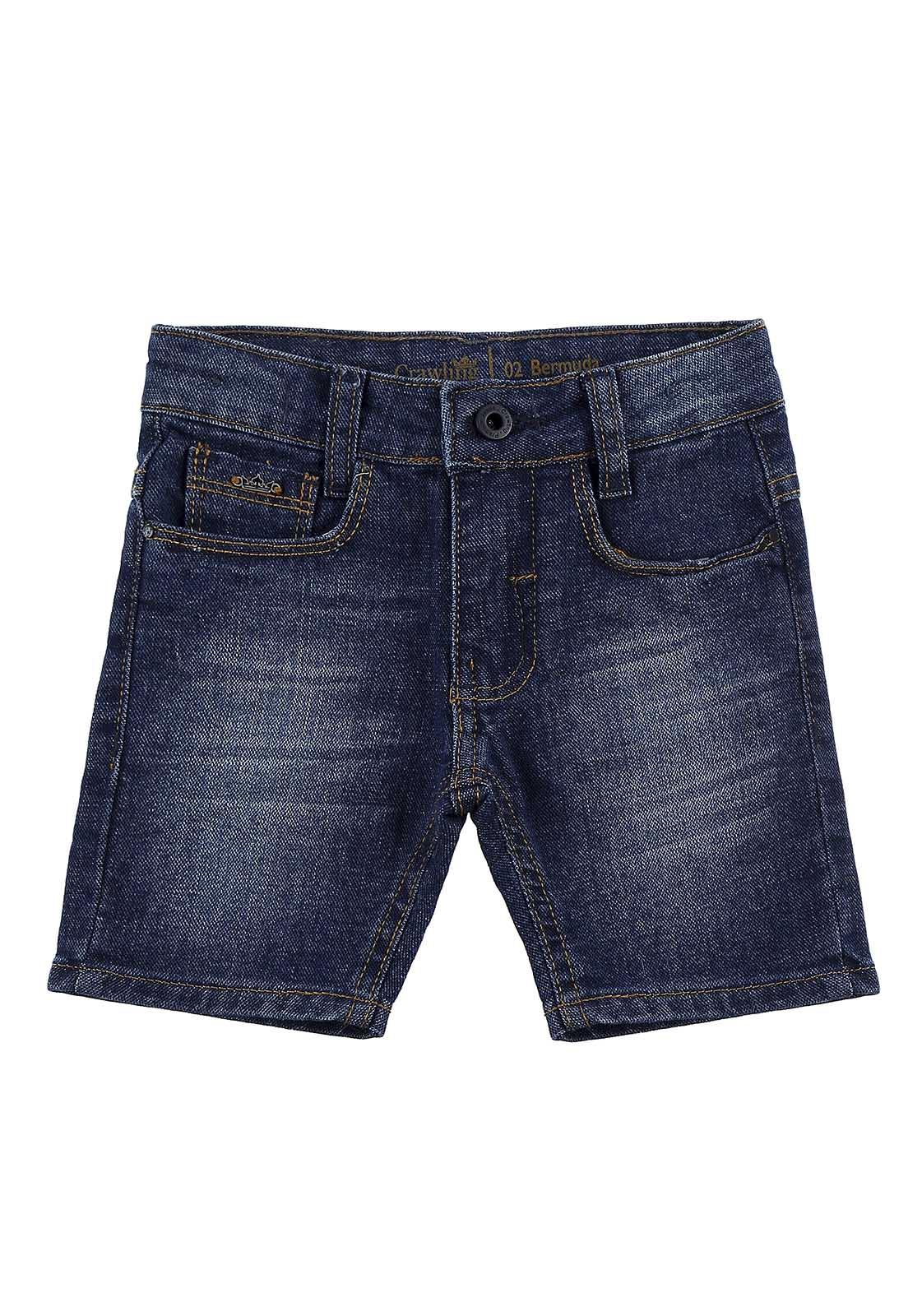 Bermuda Baby Boy Crawling Jeans
