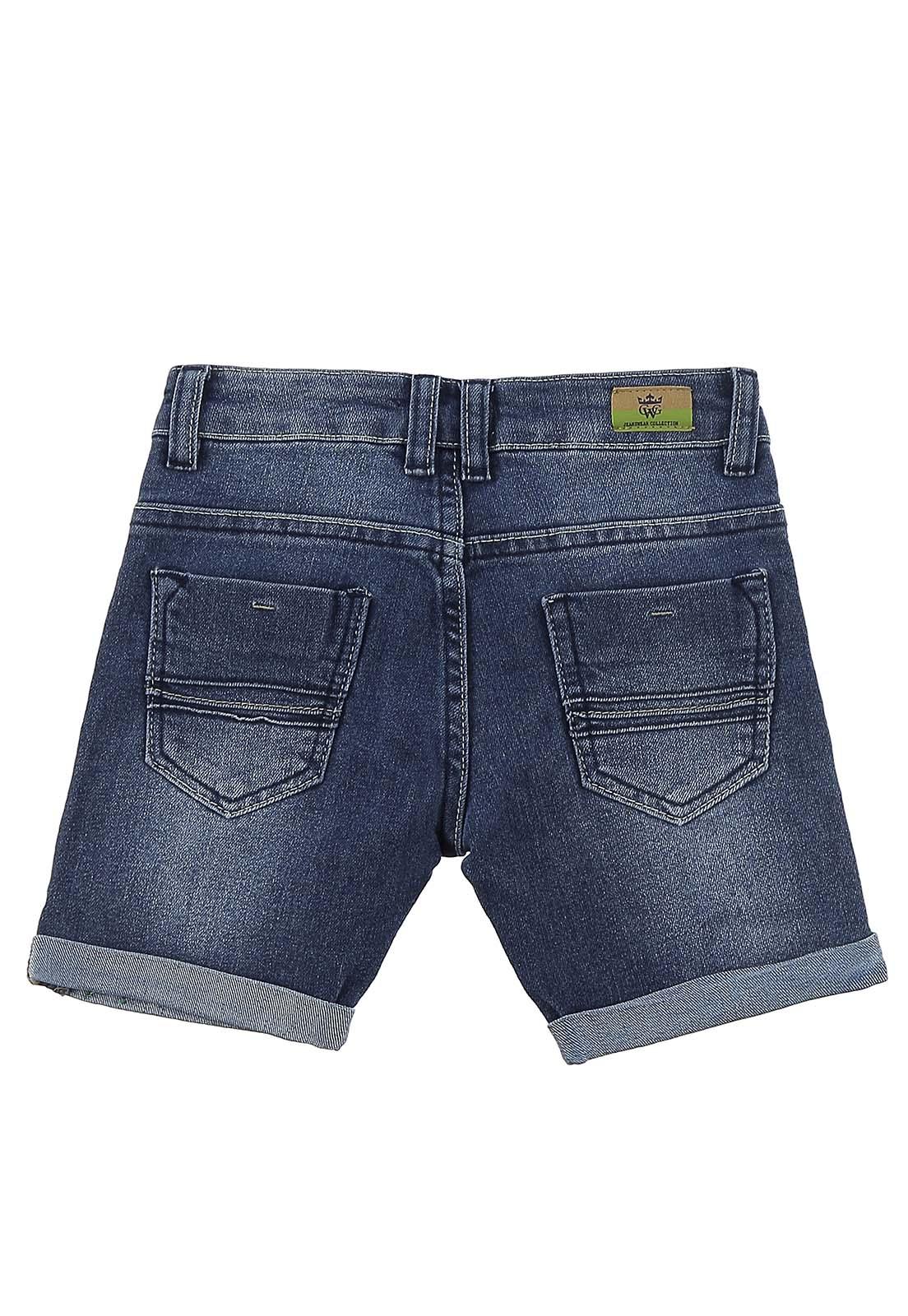 Bermuda Crawling Jeans Baby Boy