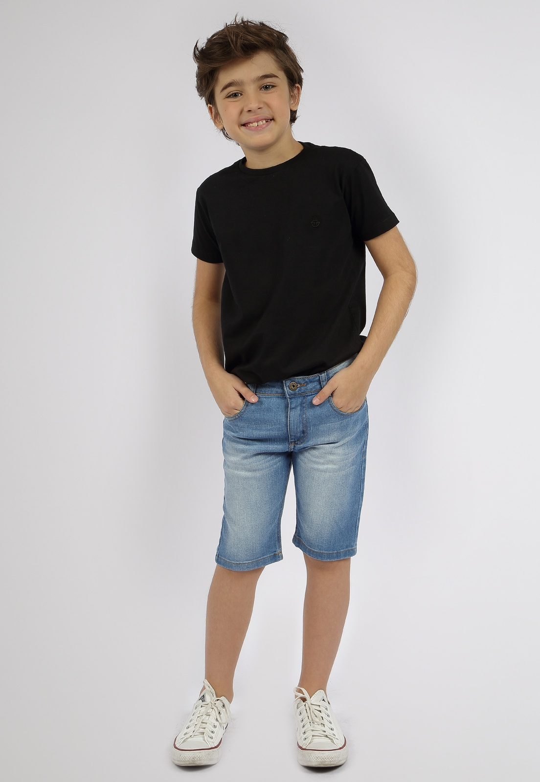 Bermuda Crawling Masculina Jeans