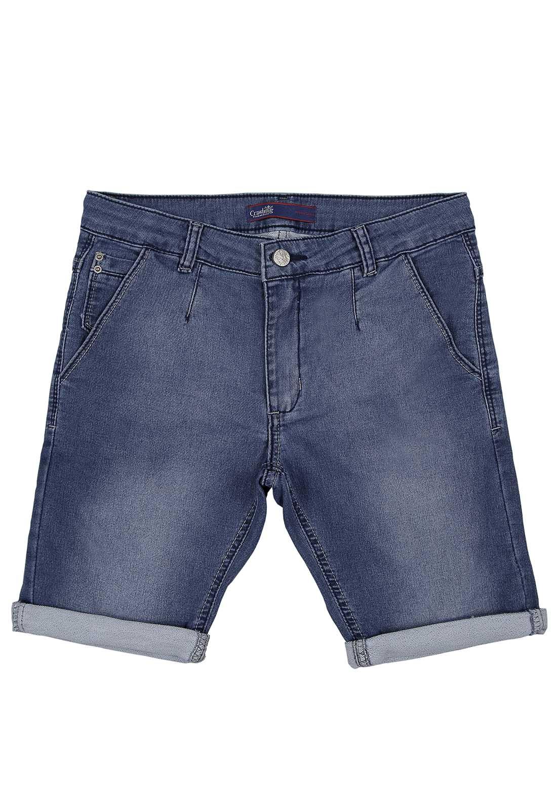Bermuda Masculina Crawling Jeans