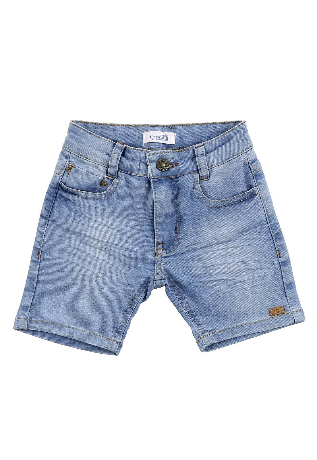 Bermuda Masculina Jeans Baby Boy