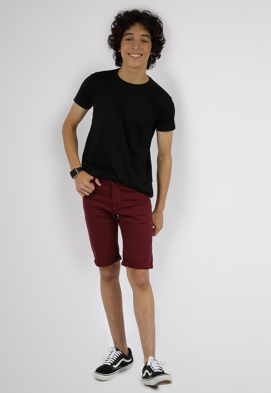 Bermuda Sarja Masculina Crawling Jeans