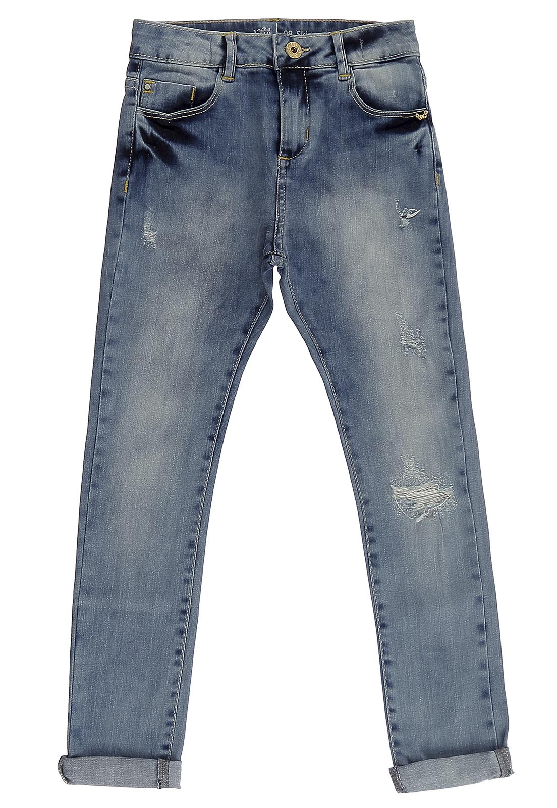 Calça Crawling Jeans Feminina Skinny