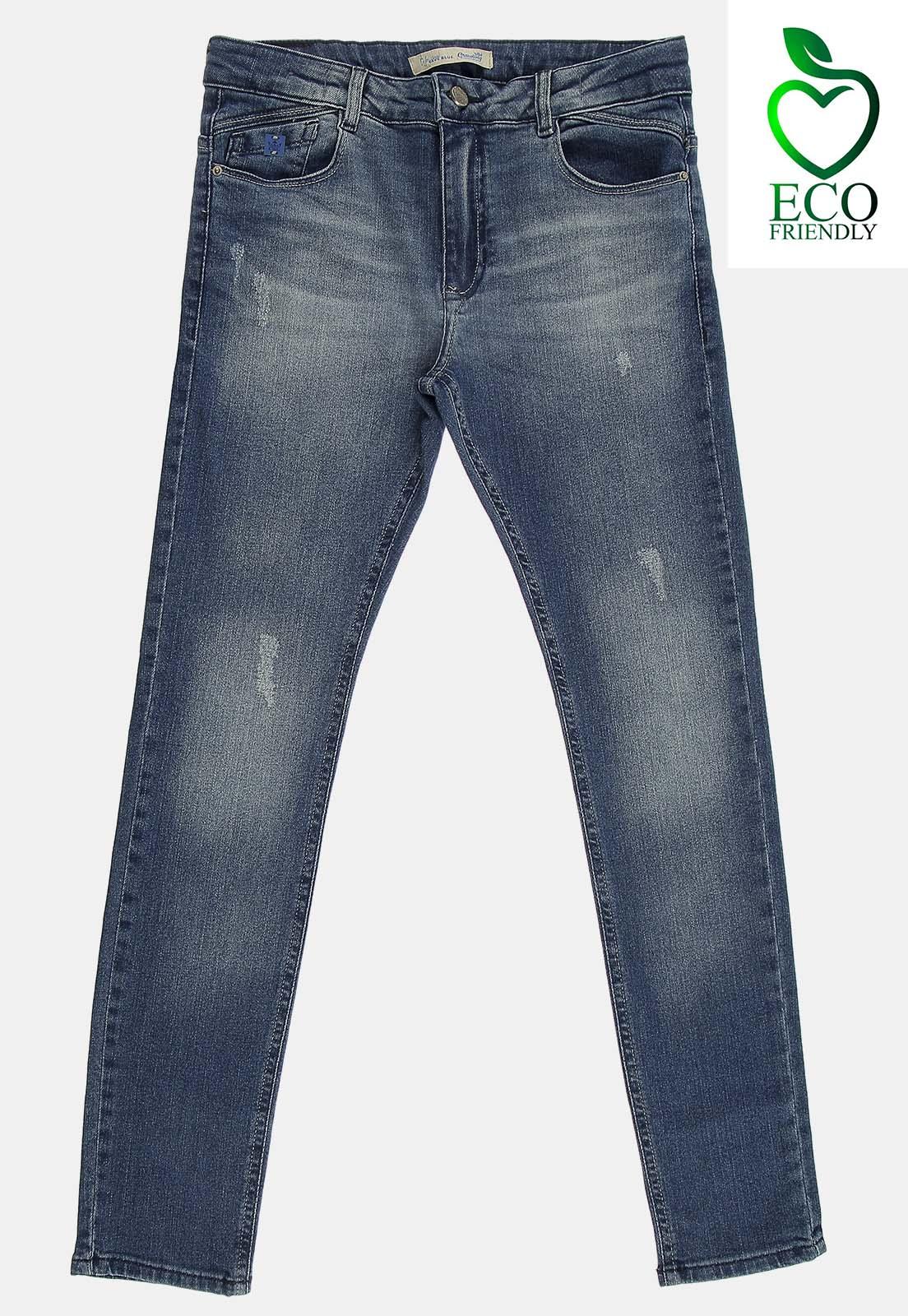 Calça Crawling Jeans Masculina Skinny Eco Dye